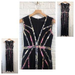 BCBGmaxazaria black long gown